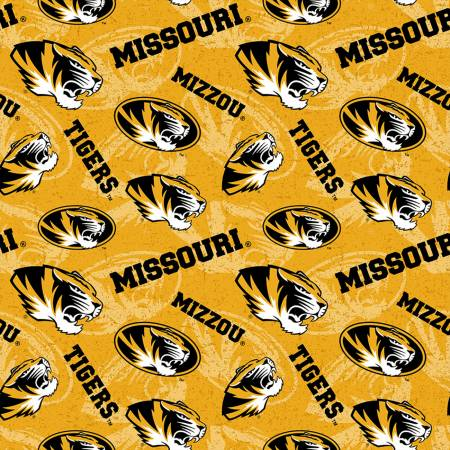 NCAA-Missouri Tigers Tone on Tone Cotton