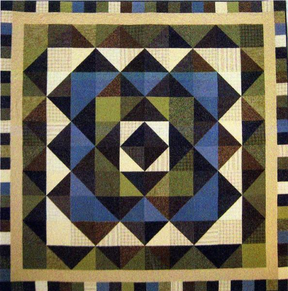 Triangle Trips Quilt Pattern