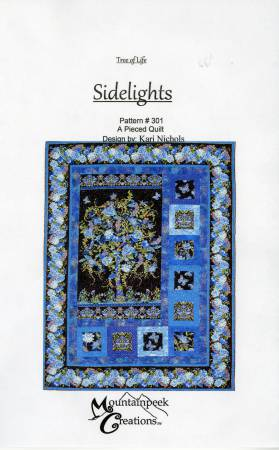 Tree of Life Sidelights Panel Quilt