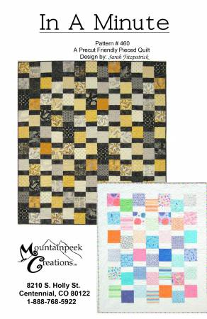 In A Minute Quilt Pattern