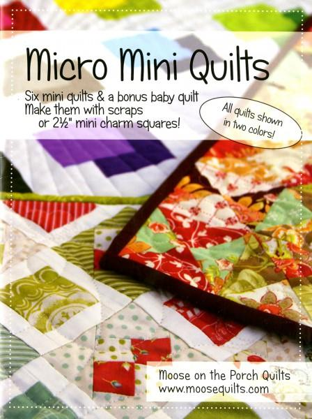 Micro Mini Quilts - Softcover
