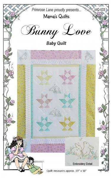 Bunny Love Baby Quilt