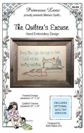 The Quilter's Excuse