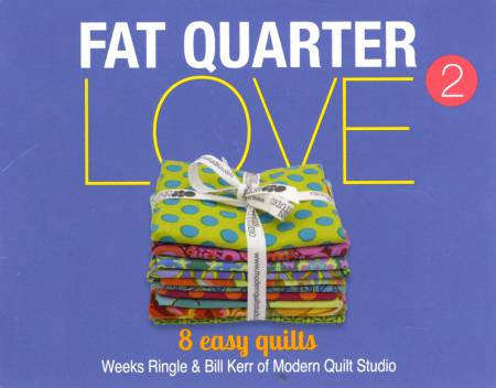 Fat Quarter Love Mini Pattern Book 2 - Softcover - MQSFQ2L16