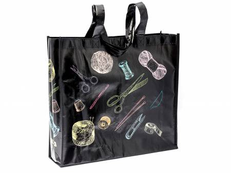 Chalkboard Notions Shopping Tote