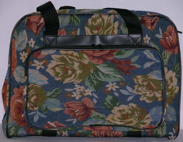 Sewing Machine Bag Blue Floral