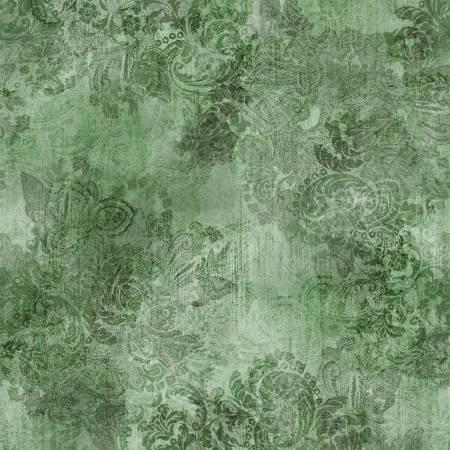 Emerald Vintage Farmhouse Digitally Printed