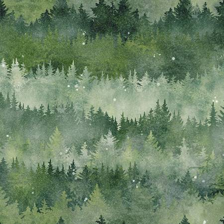 Fabric - Forest Painted Forest 205 T