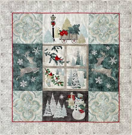 Joyeux Noel Quilt Kit 59 x  59