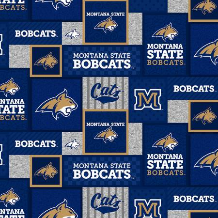 NCAA-Montana State Bobcats College Patch Fleece