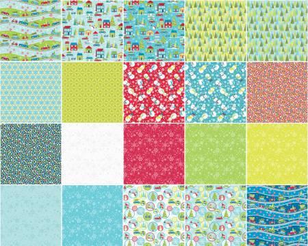 10in Squares Mulberry Lane 42pcs/bundle