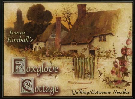Jeana Kimball's Foxglove Cottage Needle Card Betweens