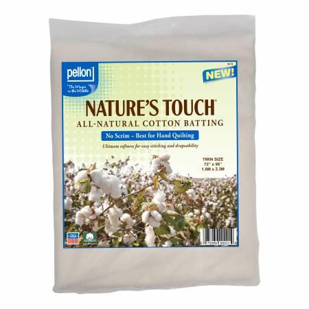 Nature's Touch 100% Cotton - Twin 72x90 (no scrim)