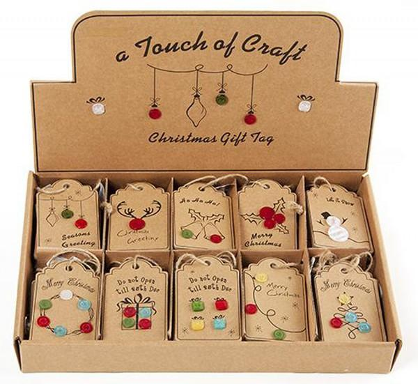 Christmas Sewing Gift Tags