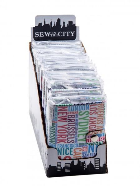 Sew In The City Sewing Kit Display