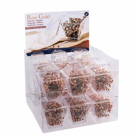 Rose Gold Pin Tower Box