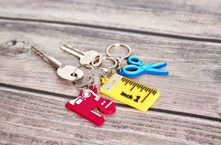 Sewing Key Ring  - Various Designs