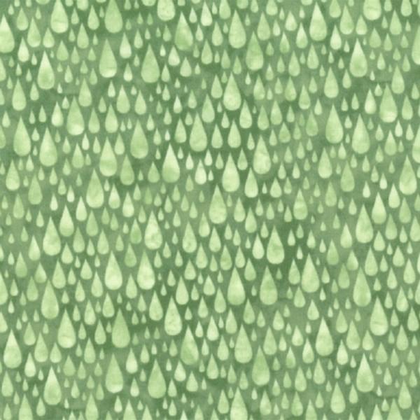 Light Green Rain Drops N7800