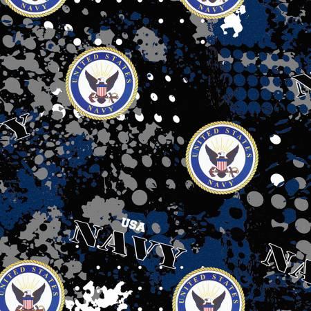 U.S. Navy Abstract Geo Logo