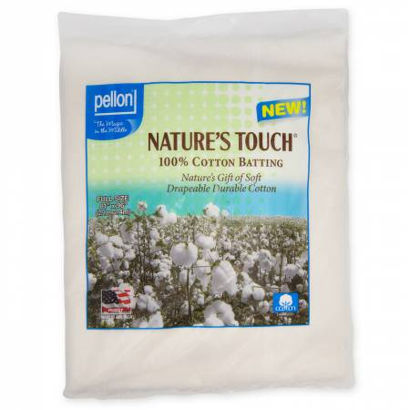 Nature's Touch 100% Cotton - Full Size 81 x 96 (w/scrim)