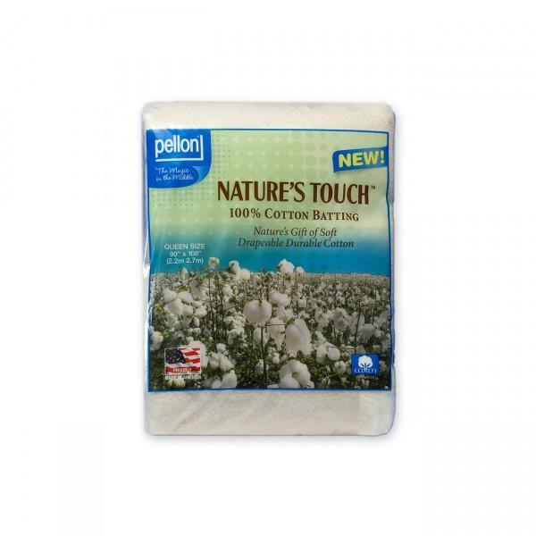 90 X 108 Natural Cotton Batting