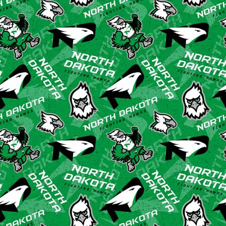 NCAA-North Dakota Fighting Hawks Tone on Tone Cotton
