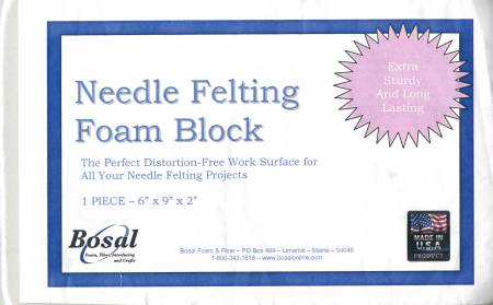 Needle Felting Foam Block