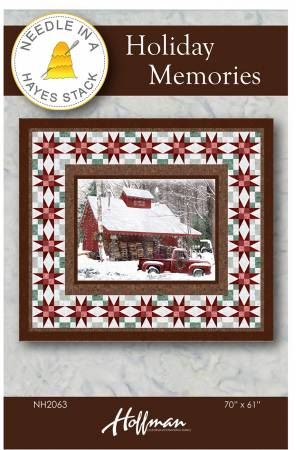 Holiday Memories Quilt Pattern - 70 x 61