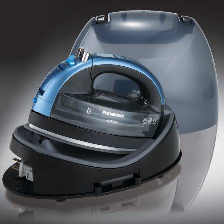 Cordless 360 Freestyle Steam/Dry Iron with Curved Advanced Ceramic Soleplate
