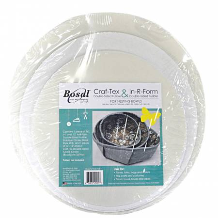 In R Form Double Sided Fusible Nesting Bowls