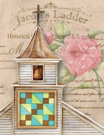 Notecard Set Quilt Church Jacob's Ladder