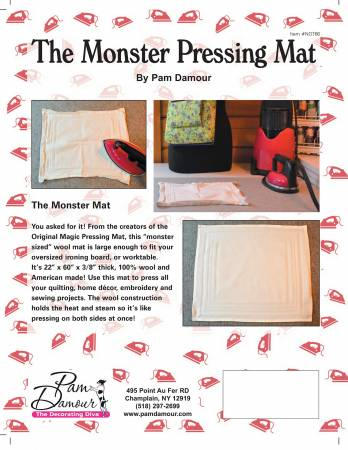 The Monster Pressing Mat