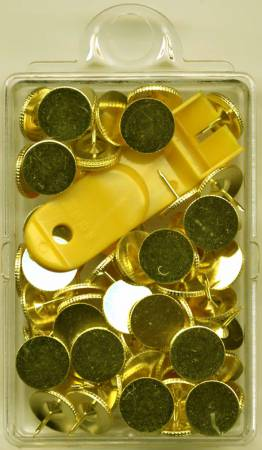 Tacks Brass with Remover - NP100H