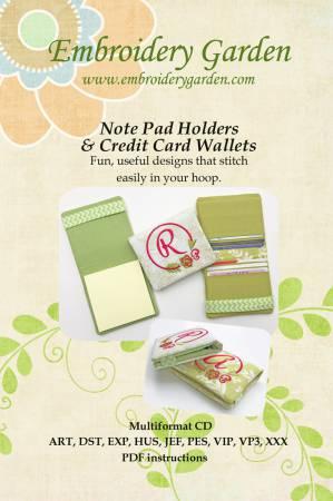 EG Note Pad Holder & Credit Card Wallet