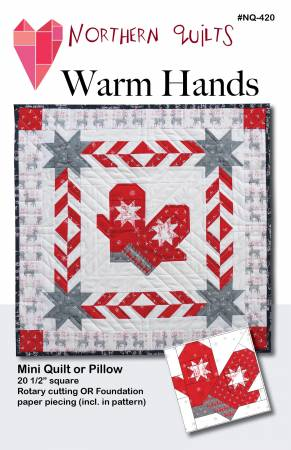 Warm Hands Pillow or Mini Quilt