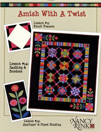 Amish With A Twist Block of the Month