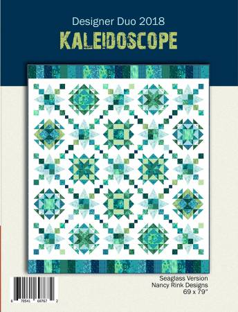 Designer Duo 2018  Kaleidoscope Pattern Booklet