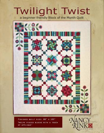 Twilight Twist Block Of The Month Booklet