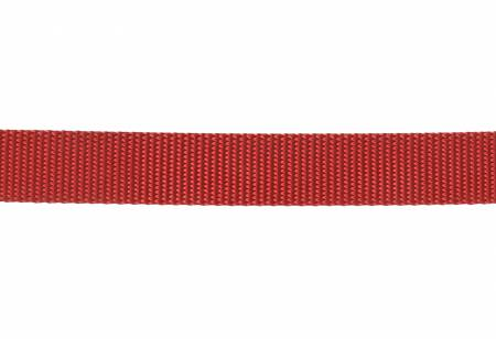 Nylon Webbing 1 Red By The Yard