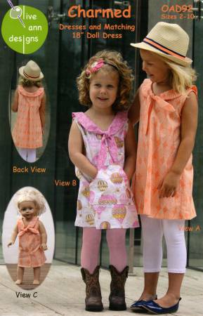 Charmed Dress and Matching 18in Doll Dress
