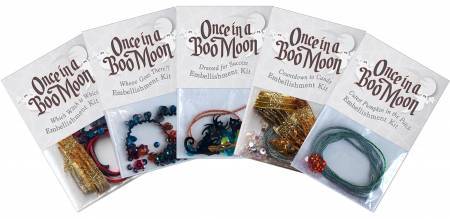 Once in a Boo Moon Complete Embellishment Set McKenna Ryan