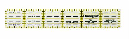 Omnigrid Ruler 1in x 6inR1 - OG1