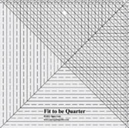 Fit to be Quarter Ruler
