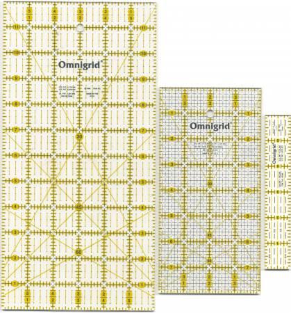 Omnigrid Ruler Set Rotary Basic