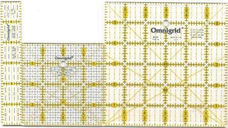 Omnigrid Ruler Quilting Square Set