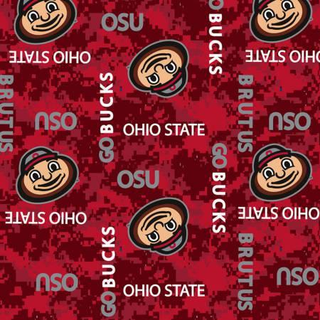 NCAA Ohio State Digital Camouflage Fleece