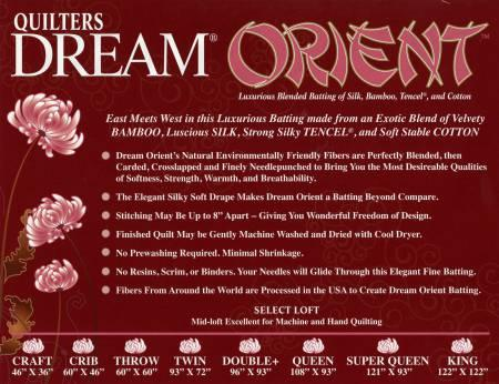 Quilters Dream Orient Queen