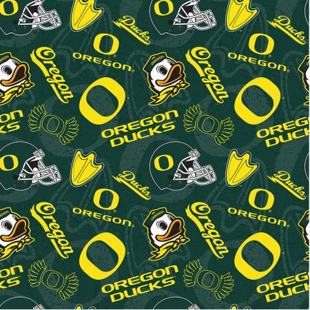NCAA Oregon Tone on Tone Cotton