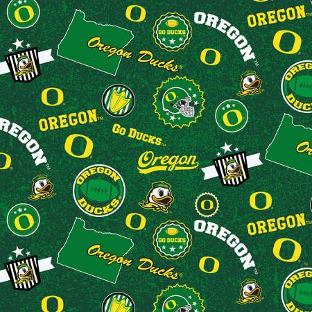 NCAA-Oregon Home State Minky