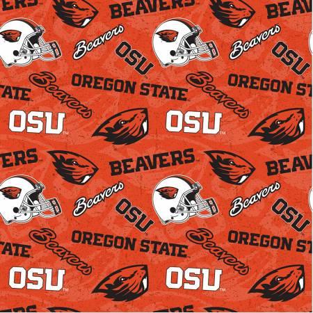 NCAA Oregon State Tone on Tone Cotton